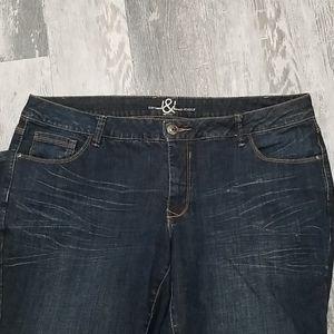 Love & Legend Jeans Bootcut Size 18P